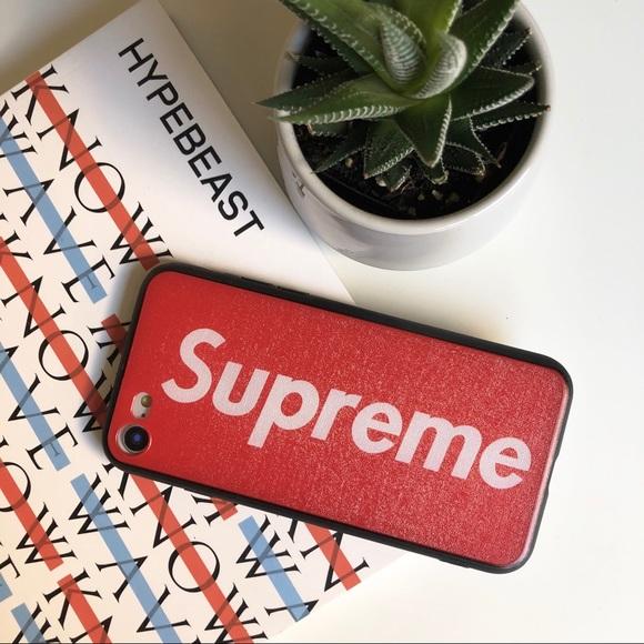22f0bb77850d SUPREME Fashion Case (iPhone) - Hard Case